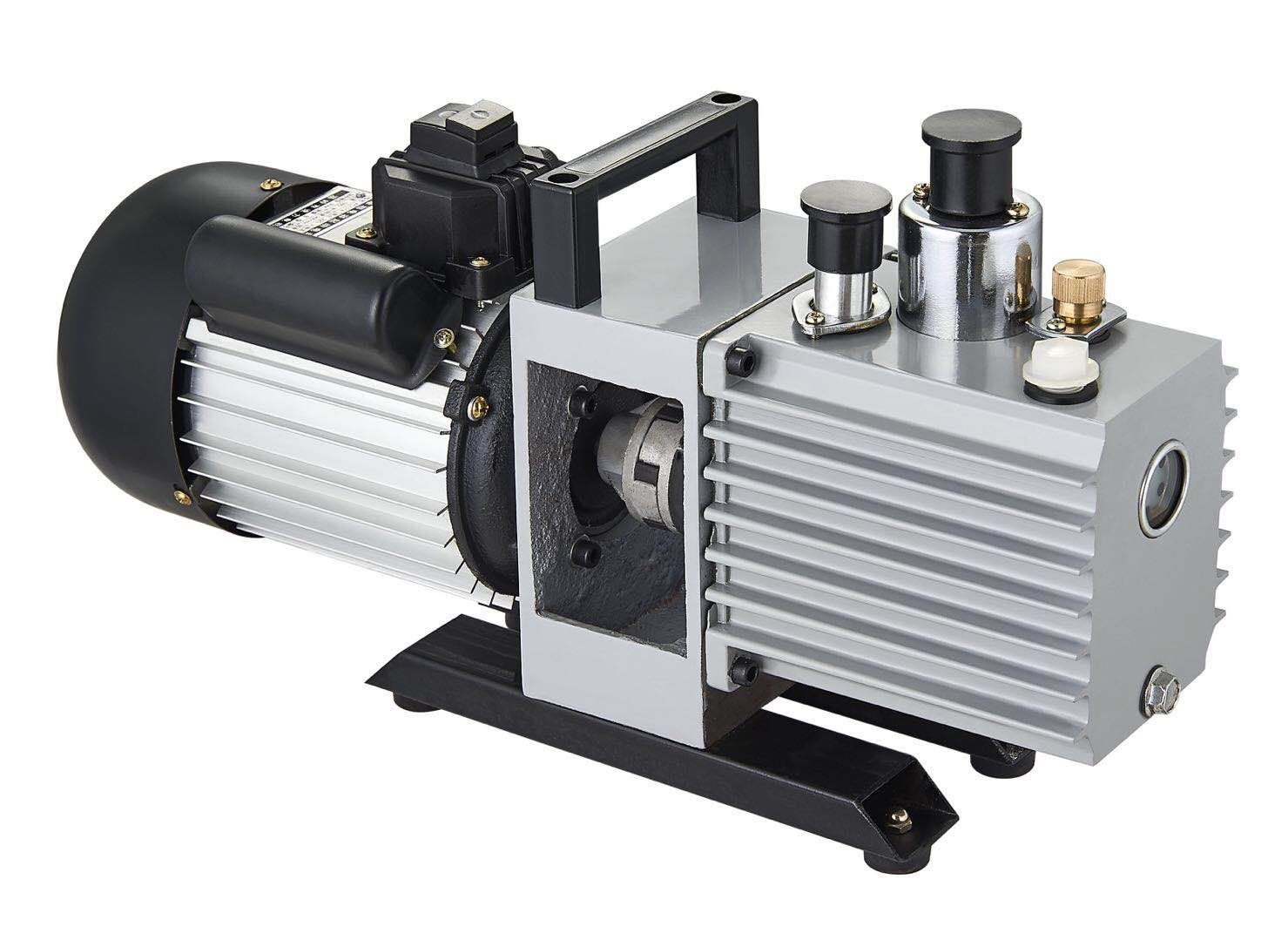 Energy Saving Vacuum Pump Single/Double Stage R32 Refrigeration Air Pump