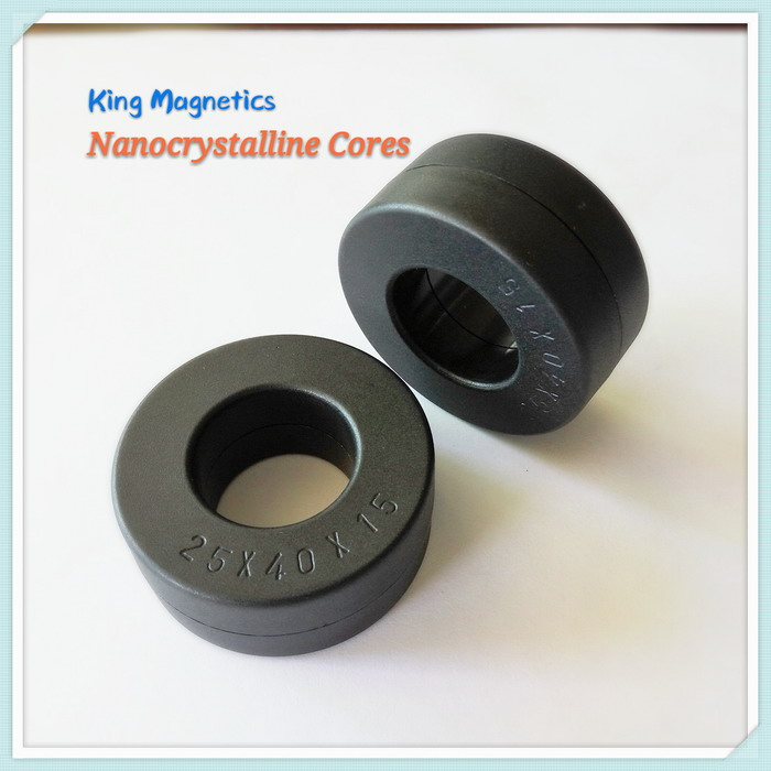 Custom Made High Performance Replacing Ferrite Core Use Nanocrystalline Core KMN402515 W424