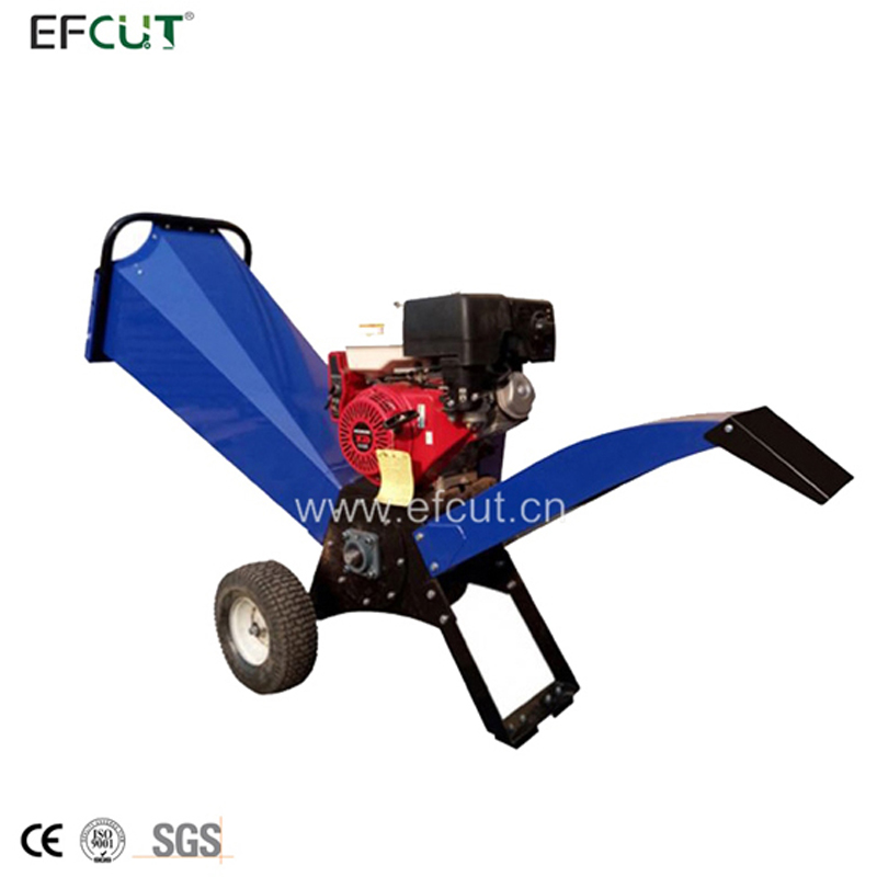 EFCUT Drum Wood Chipper Shredder Mulcher with 4