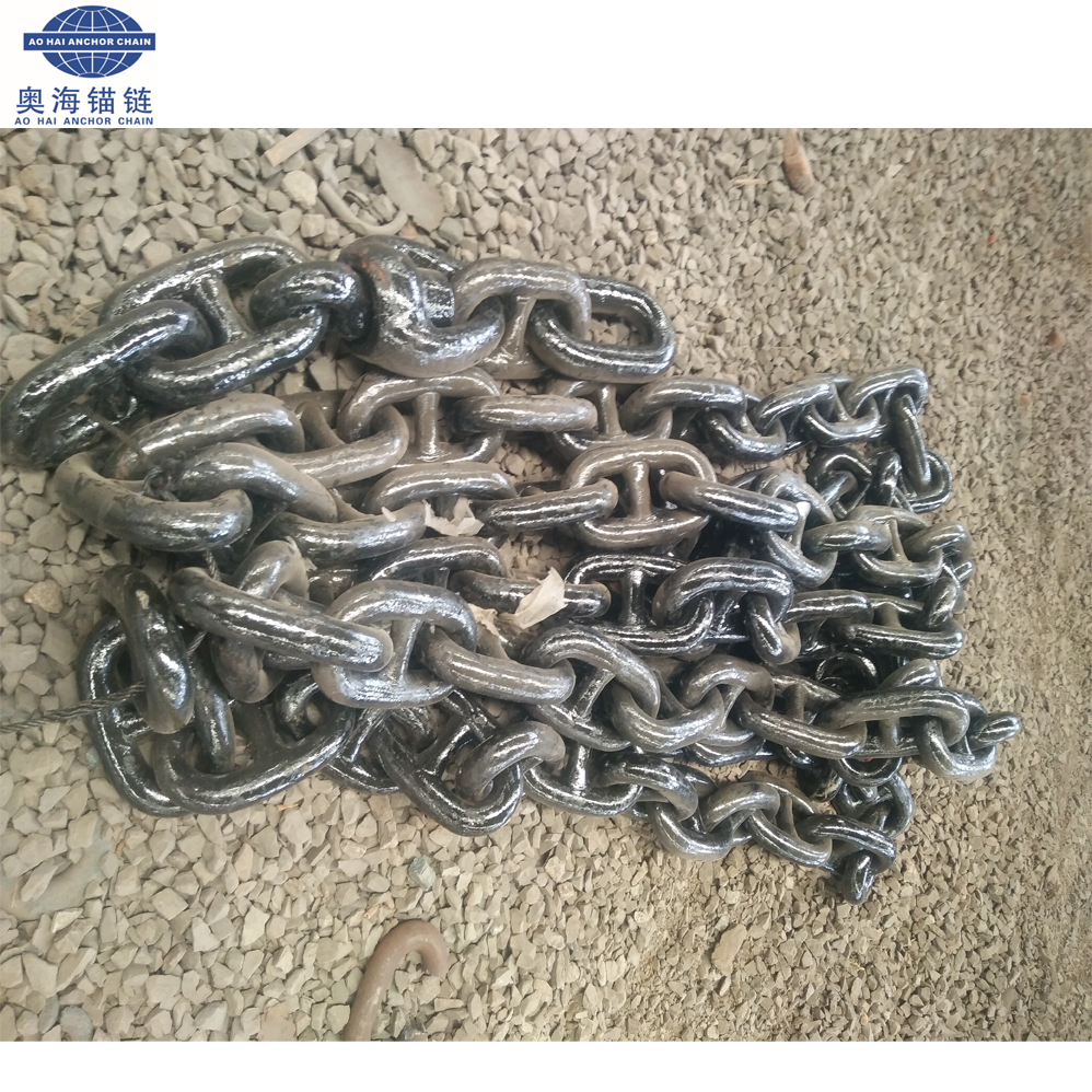 Marine Ship Stud Link Anchor Chain with NK Certificate