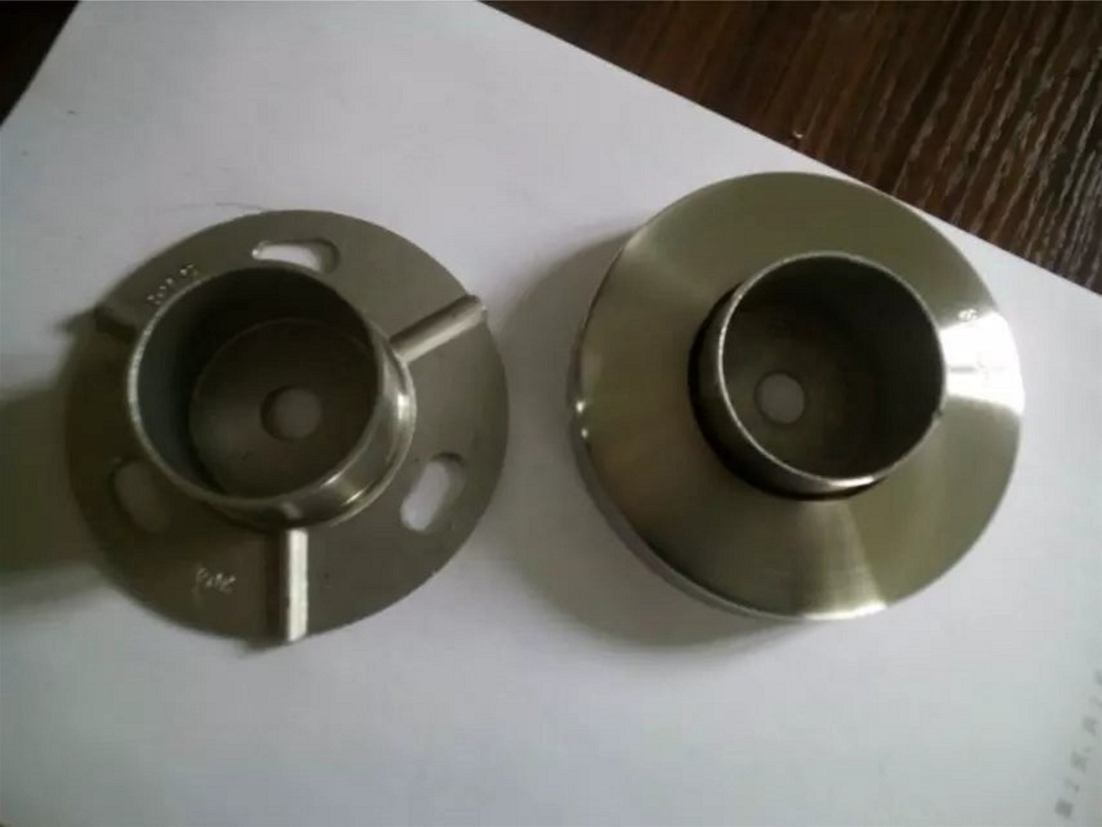 Hardware FittingFlooring Handrail AccessoriesStainless Steel Flange Accessory Covers