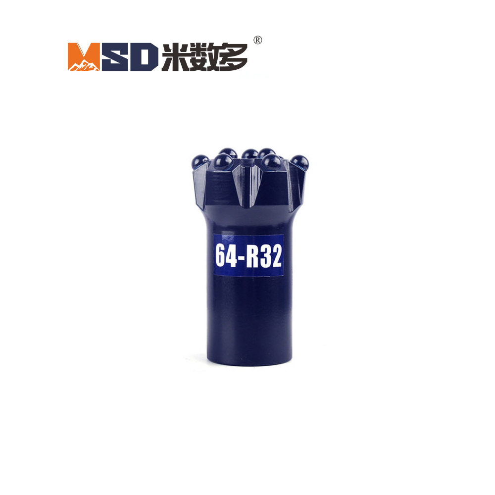 Top Hammer Drilling Tools Threaded Drill Bit For Rock Drilling And Blasting