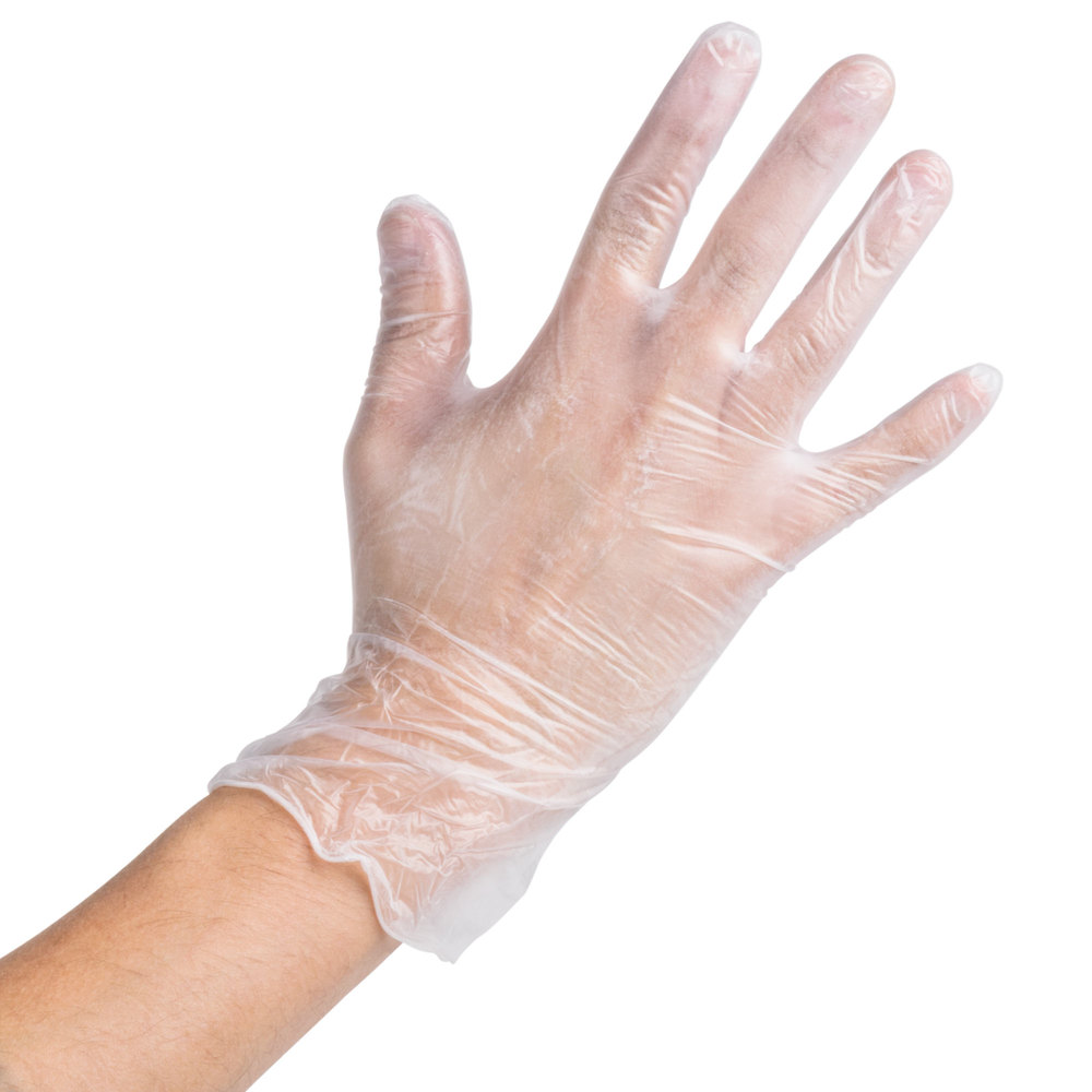 Cleanroom gloves at low prices for food and hospital use by PVC Vinyl Gloves