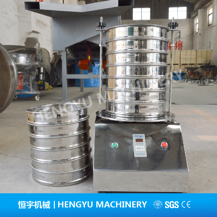 200mm Small Analysis Laboratory Test Sieve Shaker Instrument