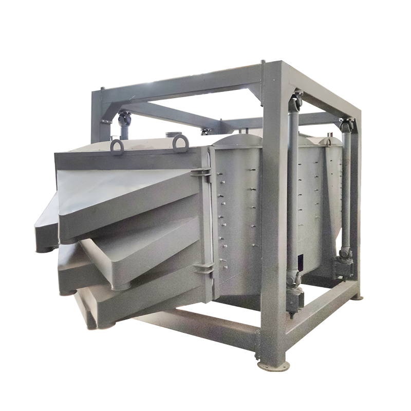 Industry Carbon Steel Linear Vibration Gyratory Sifter Equipment