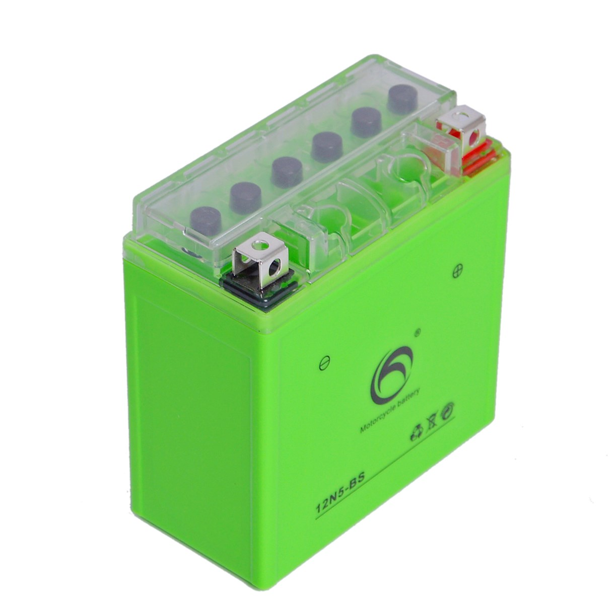 Guangdong Kejian Gel Style 12n5-BS 12V 5ah Dry Motorcycle Battery