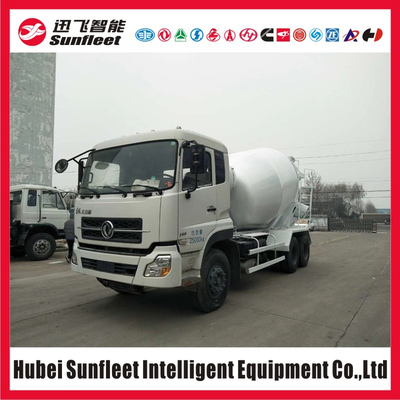 Dongfeng T-Lift Series 10 Wheel Cement Mixer Truck, 8cbm Mixing Drum, 6x4 Concrete Mixer Truck, Eu3, Eu4, Eu5 Emission Option