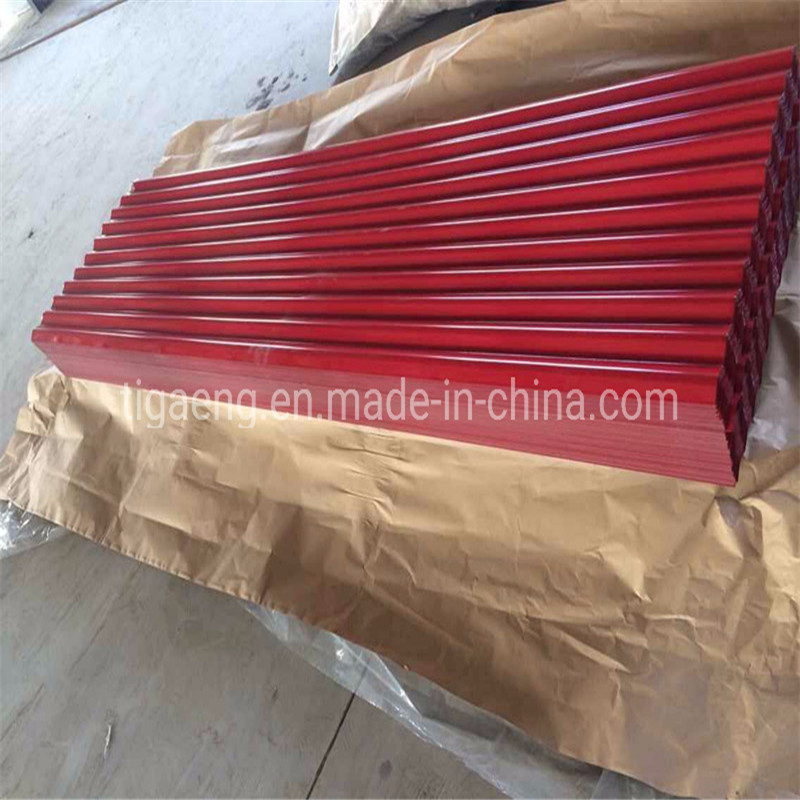 0.30mm * 680/840/1050mm Prepainted Box Profiled with Felt Trapezoidal Roofing Sheets
