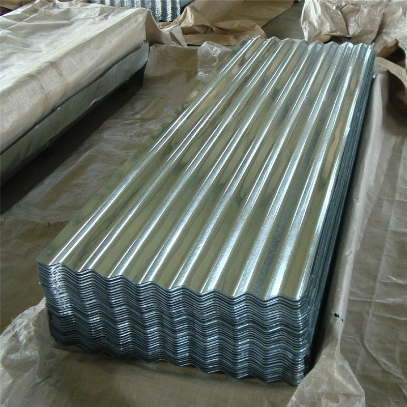 Z30-Z275G/M2 Spangle Corrugated Galvanized Steel Roofing/Walling Panel Sheet