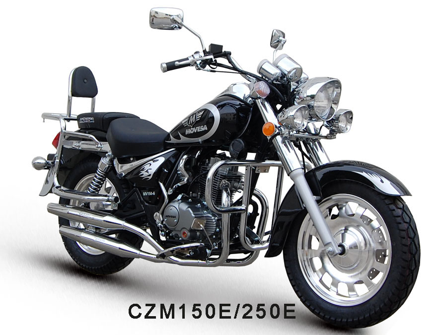 Supply Cruiser Motorcycle CZM150E with 150cc- 250cc Engines