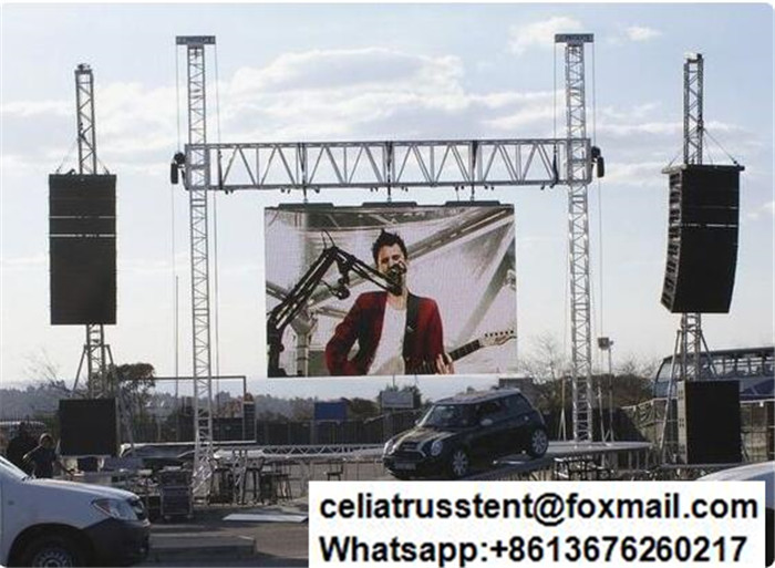 LED Screen Truss Stand for Outdoor Advertisement