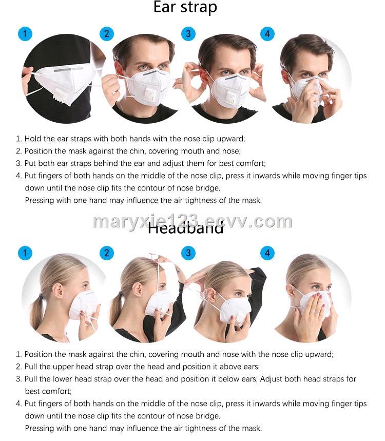 Industrial Supplies Spray Mask Disposable Respirator Work N95FFP3