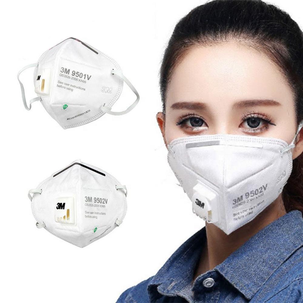 Disposable Free Adjustable Headgear 9502V KN95 Mask Full Face Mask with Respirator Dust Virus Masks KN95
