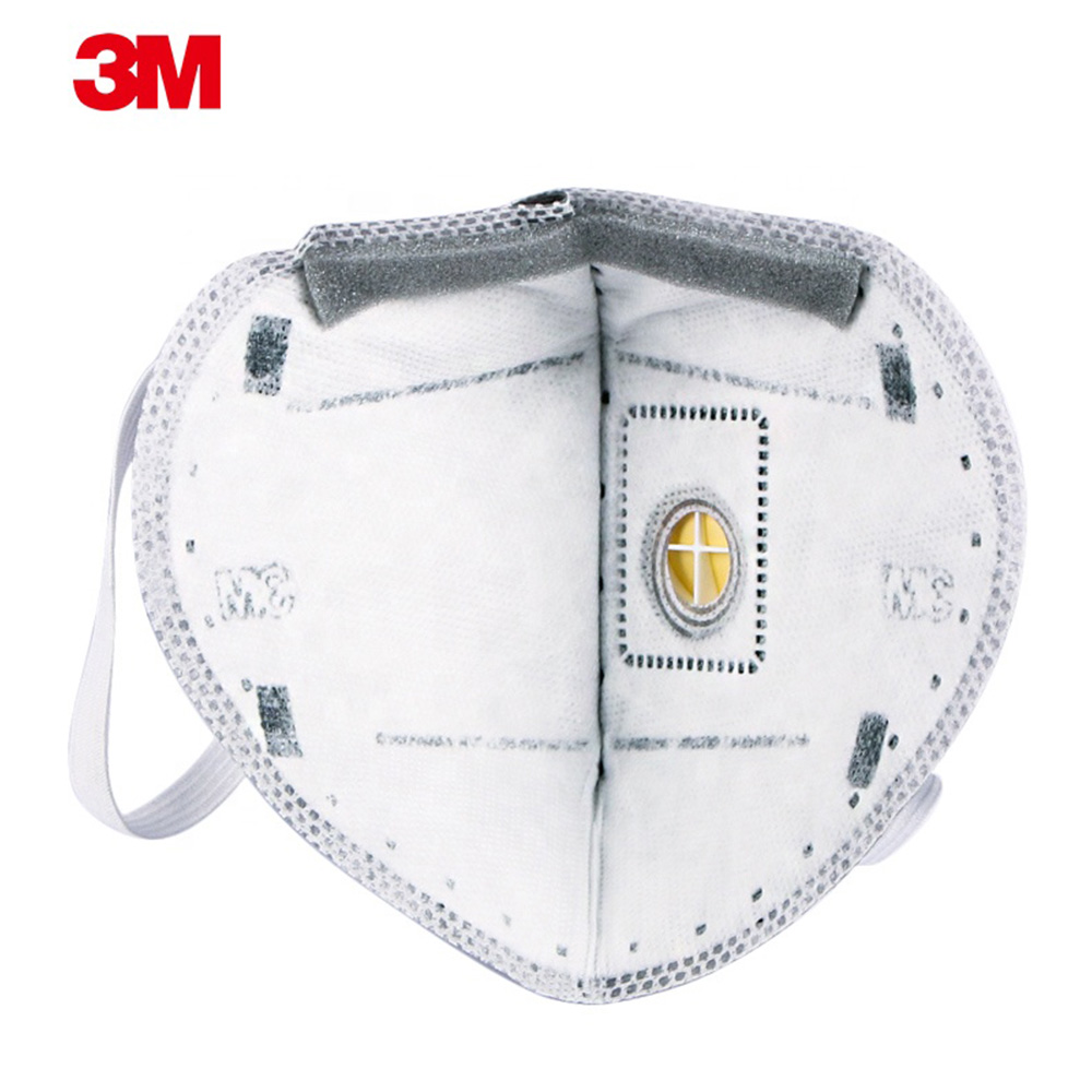3M Particulate Respirator with Valve N95 Covid 19 Antiviral Surgical Mask Disposable Surgical Face Mask