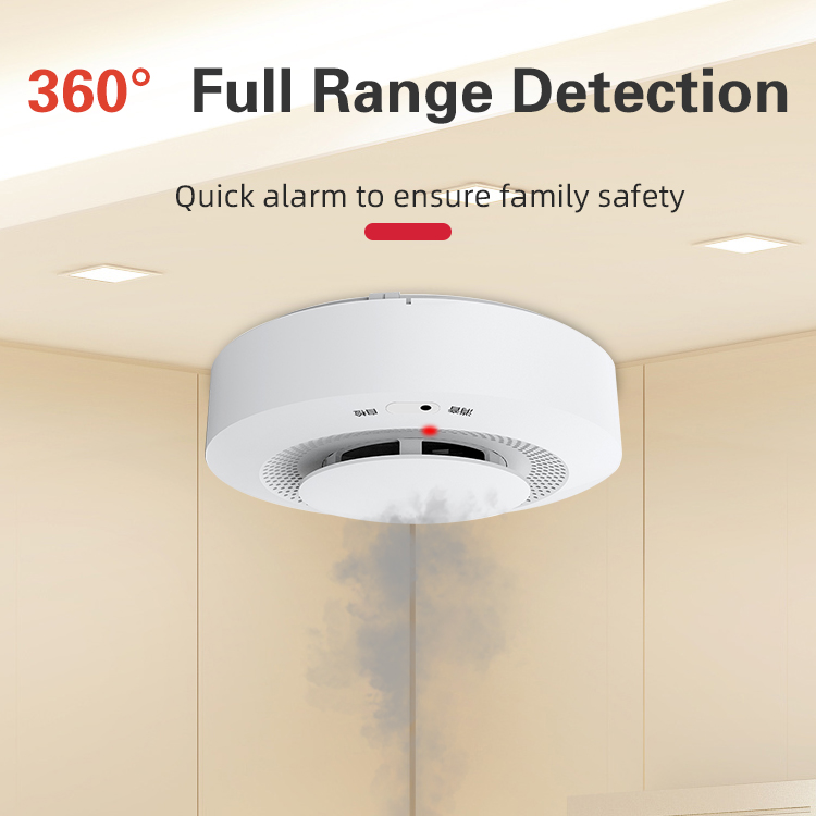 Home Security Smoke Detector FireWireless Alarm System