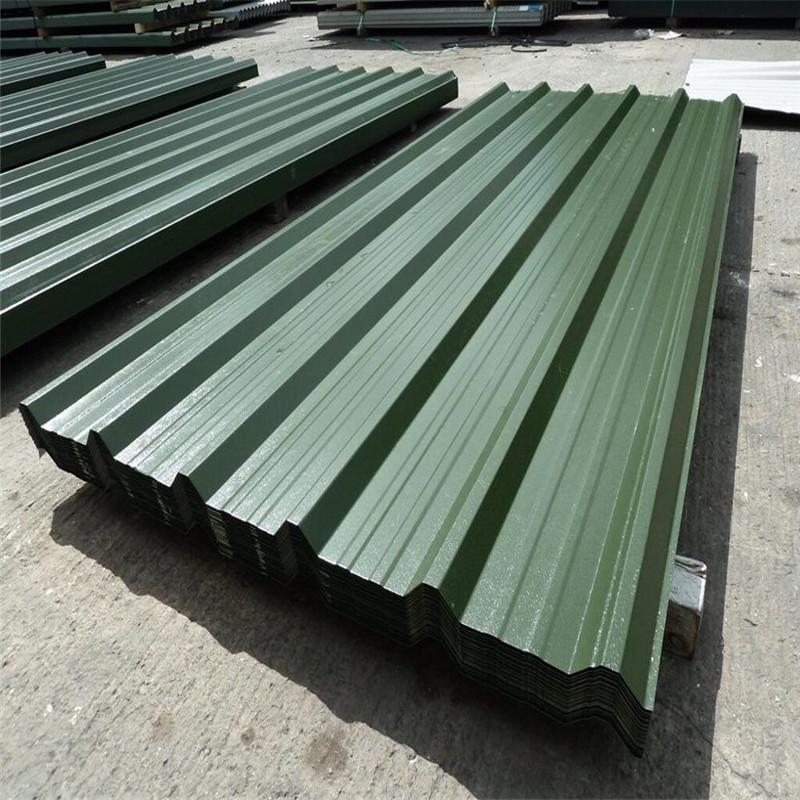 Ral Color 680mm Width Box Profiled PPGI/PPGL Roofing Tiles