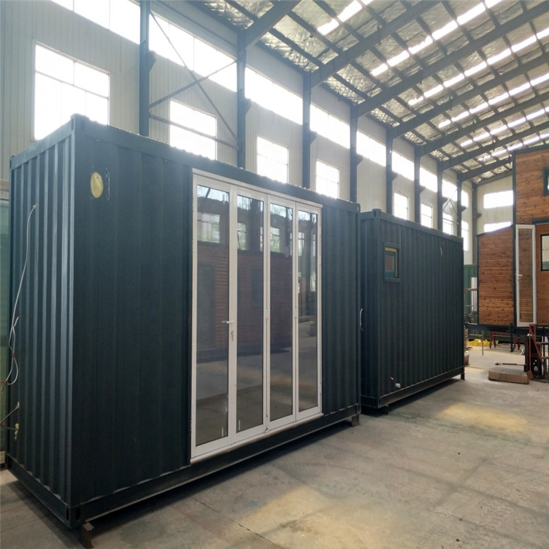 Cheap Price Movable Portable 40FT Flat Packed Container House