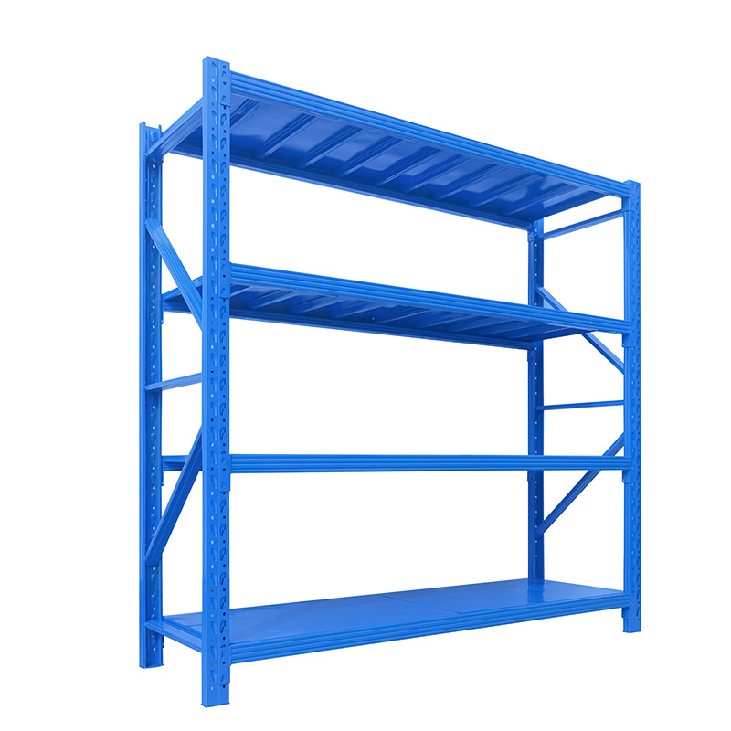 Warehouse or Supermarket Rack Storage Goods Shelf