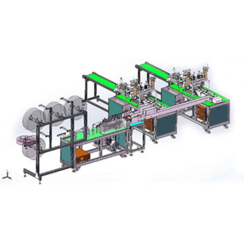 Full Automatic Mask Making Machine Surgical Face Mask