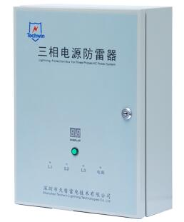 Techwin TVSS 100kA Class B+C Surge Protection Device SPD for Three-Phase 380V AC System