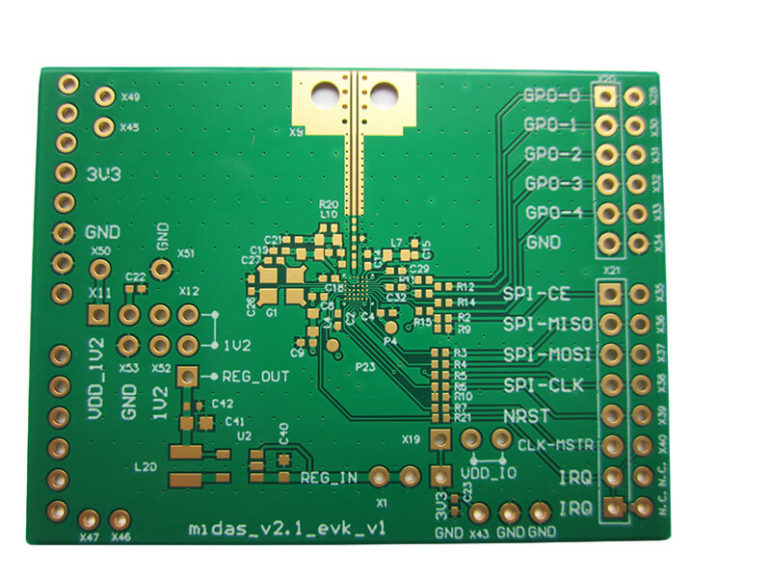 Small BGA Pad Printed Circuit Board