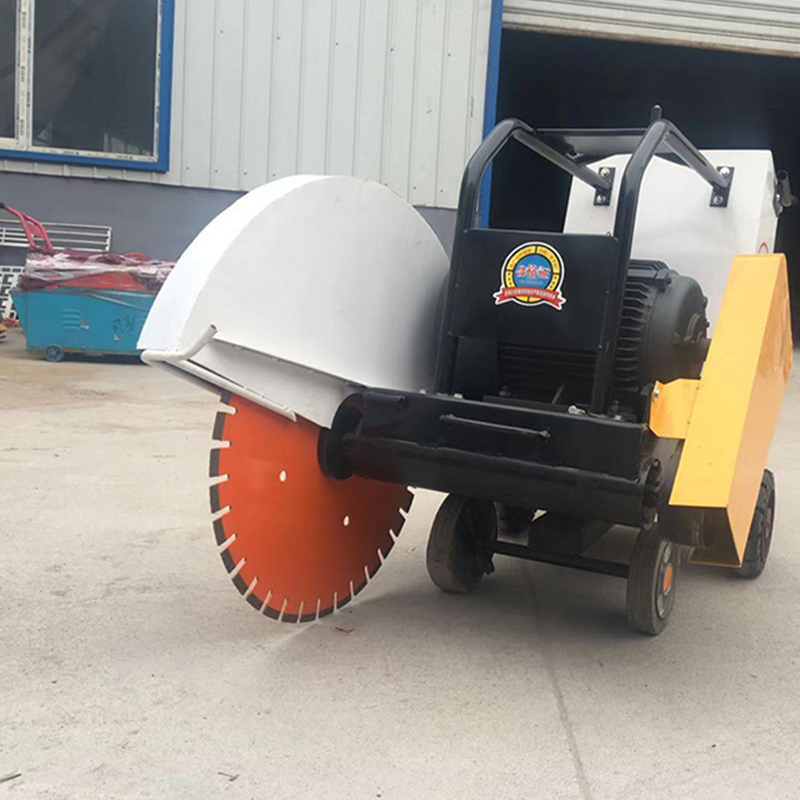 Road Concrete Cutter 500mm Gasoline Engine Asphalt Cutting Machine Pavement Joint Road Cutter Concrete Cutting Machines