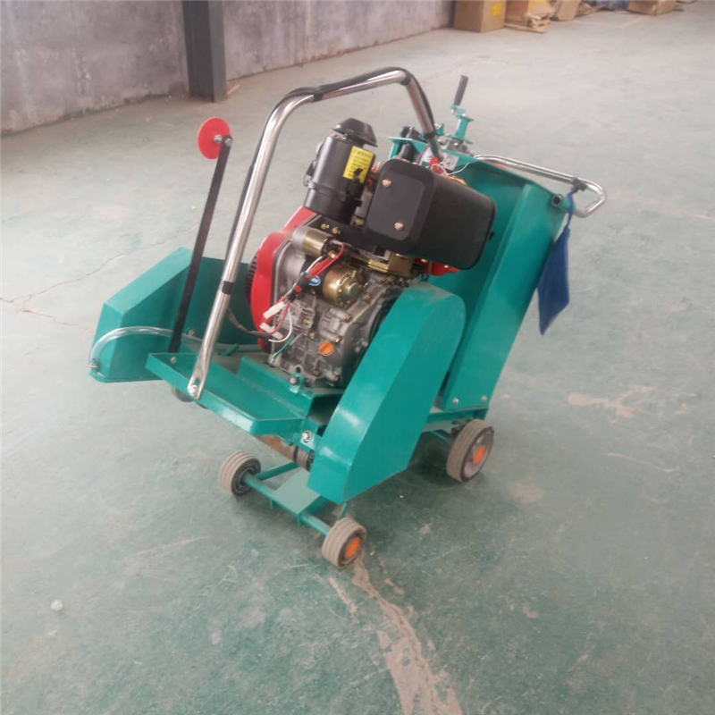 Concrete Road Cutter Road Surface Cutting Grooving Machine Concrete Cutter Gasoline Concrete Cutter