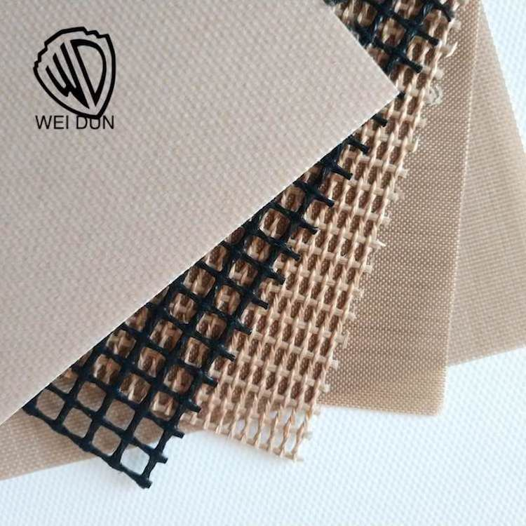 Non-Stick PTFE Coated Fiberglass Open Mesh Fabric with Pressure Sensitive