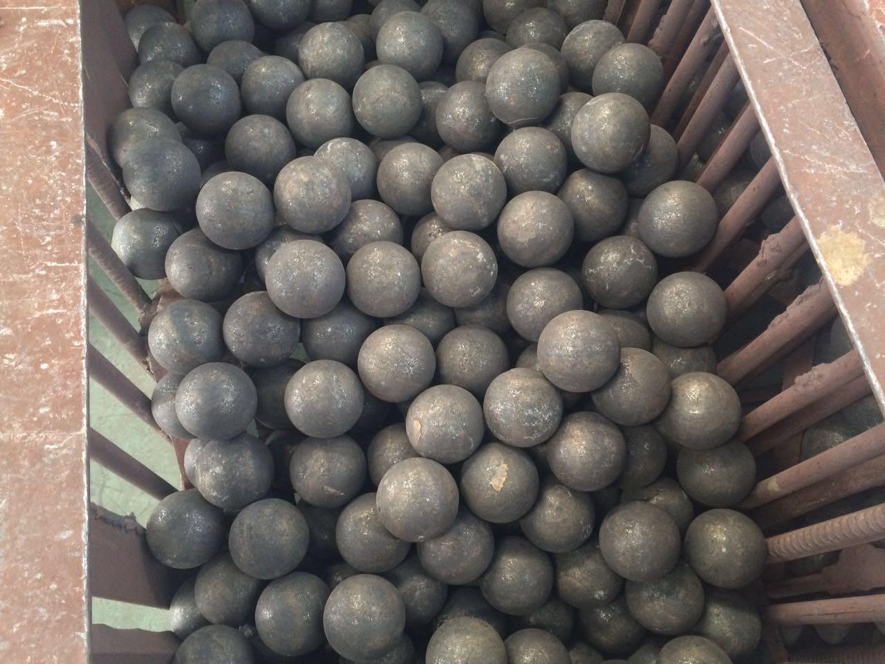 120mm-150mm Forged Grinding Steel Balls For SAG Mill