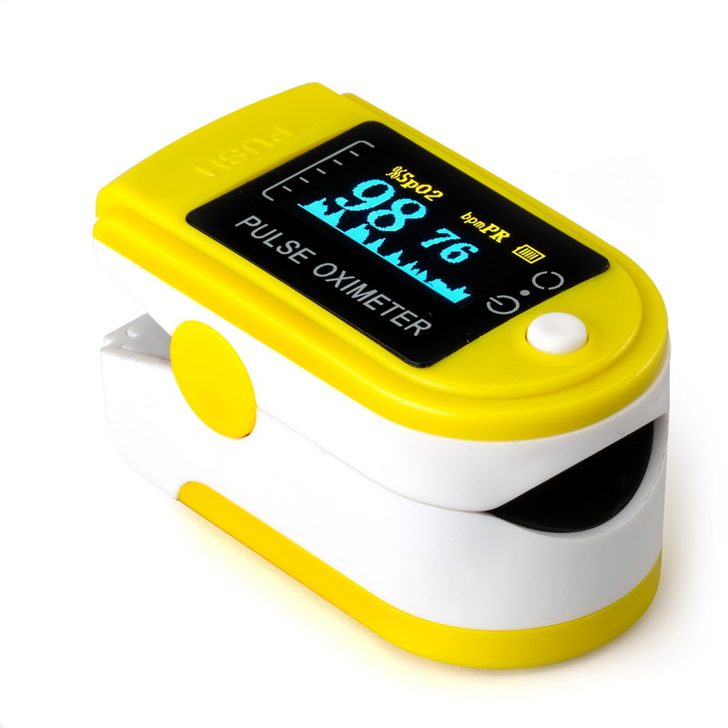 Oximetro Fingertip Blood Oxygen Monitor Finger Electric Pulsoximeter Handheld Pulse Oximeter