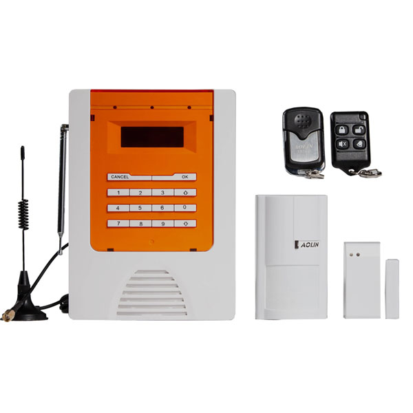 Aolin - GSM Alarm System Infrared, Magnetic, Remote Control, SMS Alarm, Mobile Remote Control System,