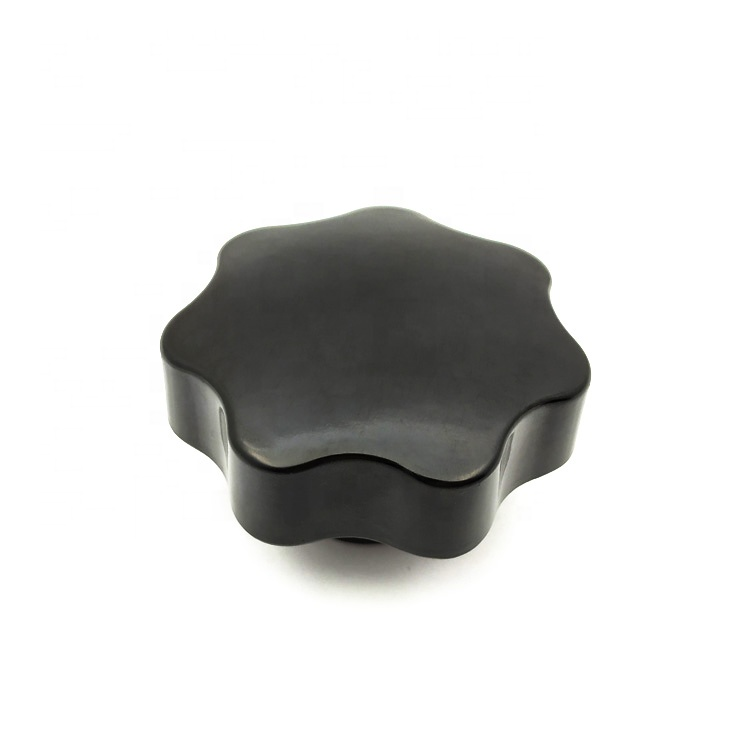 M8 Female Thread Star Shaped Head Clamping Nuts Knob
