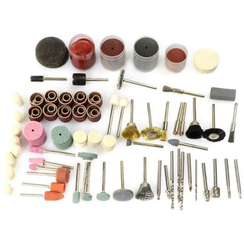 242pcs Electric Grinding Abrasives Accessories In Wooden Box Sanding Carving Polishing Tool Suit