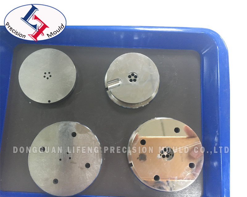 Mirror Polished Mold Part Component for AMP Precision Plastic Mould