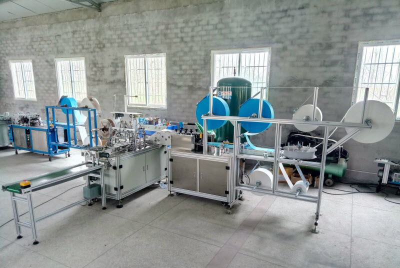 High Speed Mask Production Machine