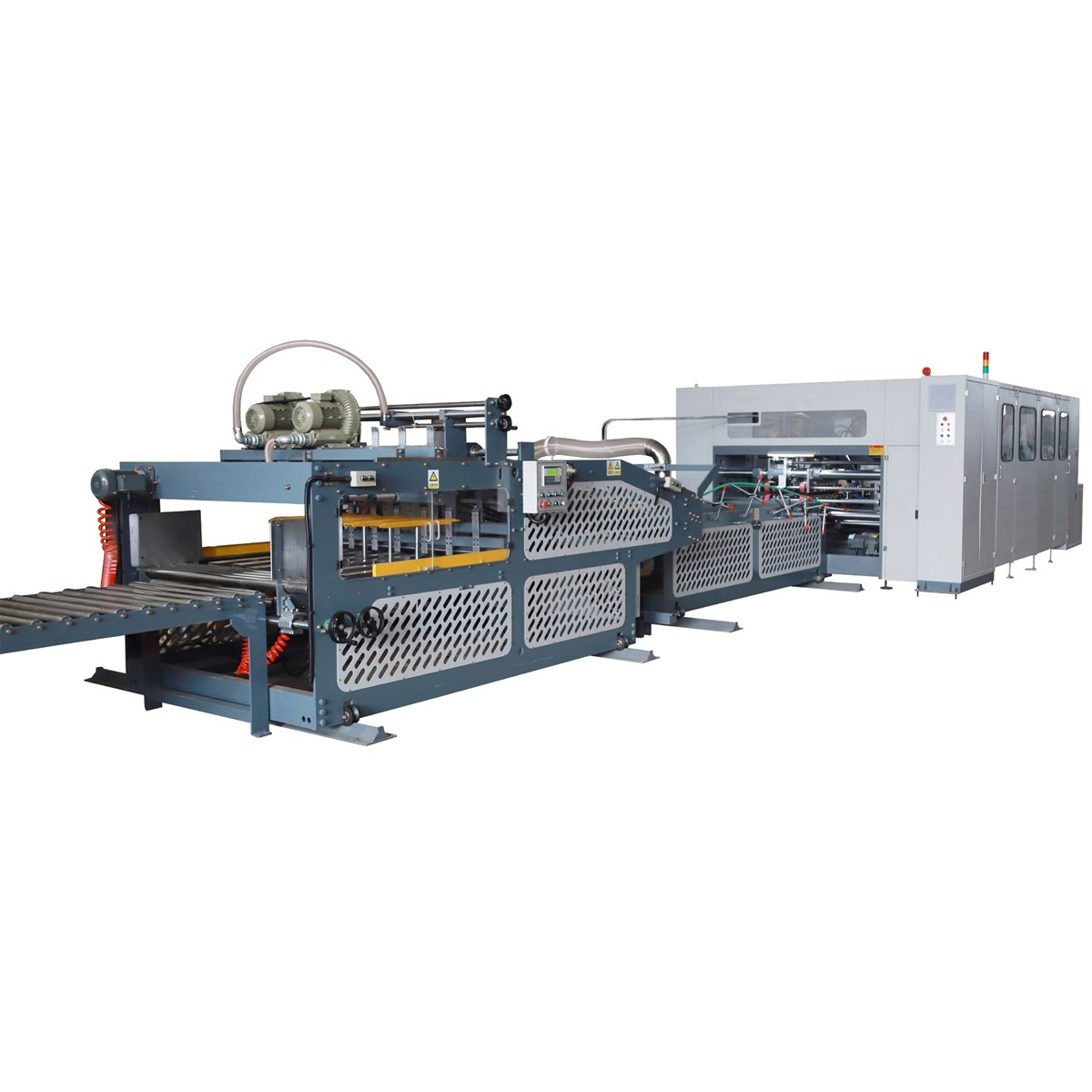 High Productivity Corrugated Carton Box Folder Stitcher Machine for Industry Carton Box
