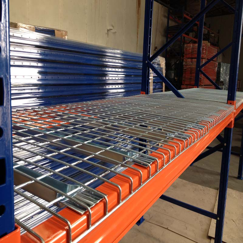 Galvanized Wire Mesh Deck Panel for Storage Rack