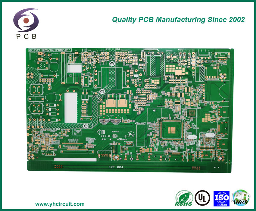 6 Layer HDI Circuit Board, Control PCB Board Multilayer PCB Factory Offers Multilayer Circuit Boards