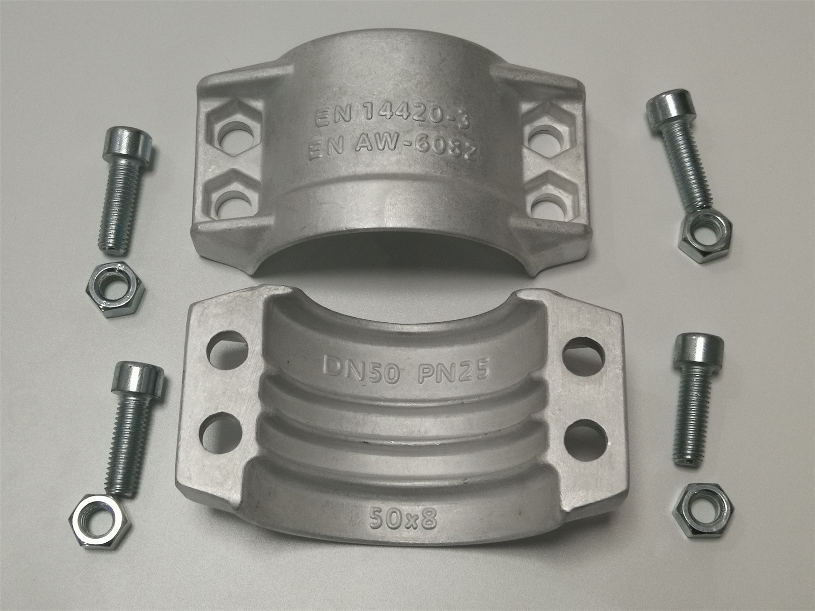 Stainless Steel/Aluminum Hose Tail Coupling Casting Forging DIN 2817 Fittings & Safety Clamps