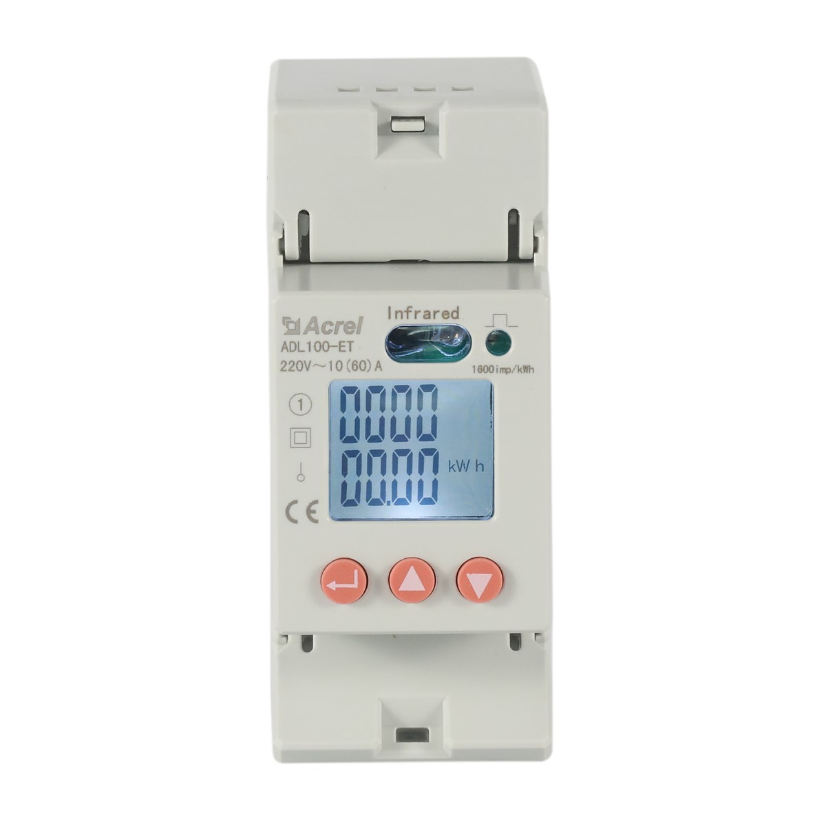 Acrel 300286. SZ ADL100-ET/C Single Phase DIN Rail Energy Meter Rs485 Modbus Rtu