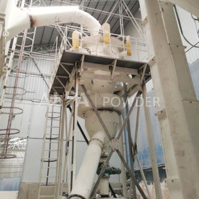 Talc Mineral Powder Air Cyclone Separator