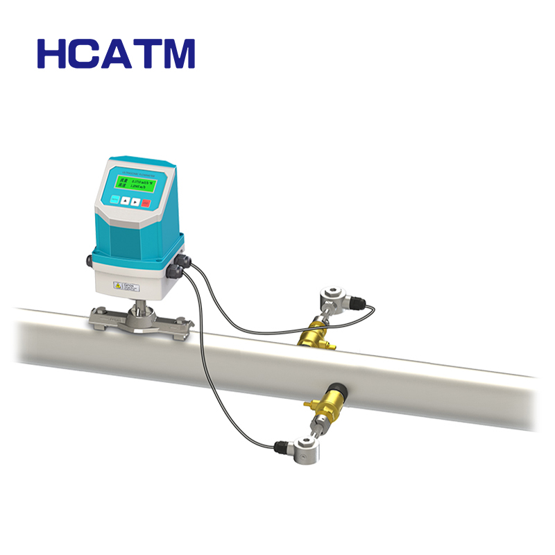 Sea Water AC85~264V Plug-in PVC DN6000 Ultrasonic Flowmeter