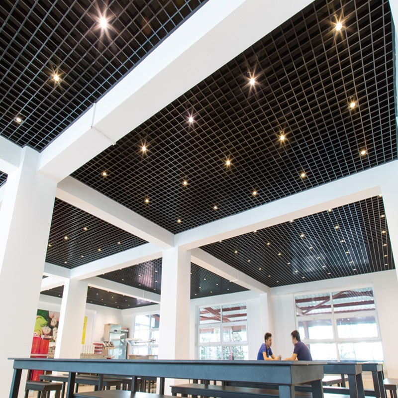 2020 New Products Building Decoration Material Suspended Aluminum Open Cell/Grill Ceiling/Grid Ceiling Tiles from Foshan