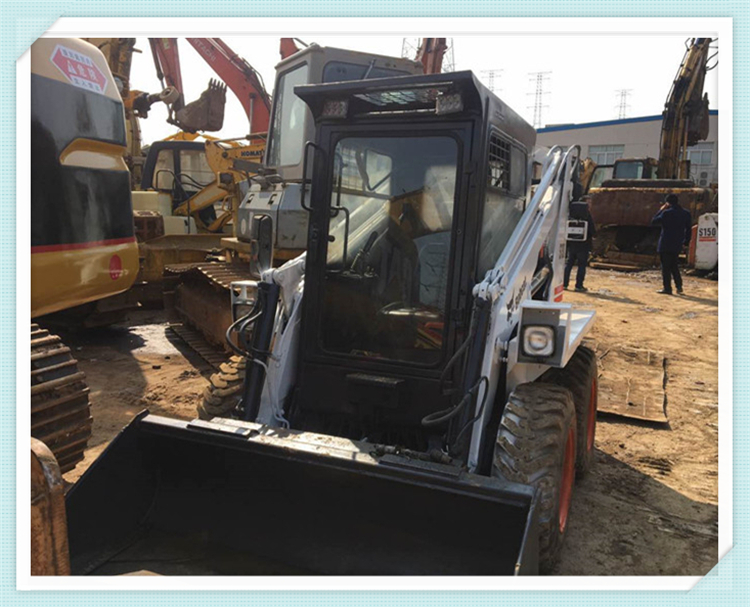 Used Bobcat S130, Mini Skid Steer Loader, Wheel Loader S130