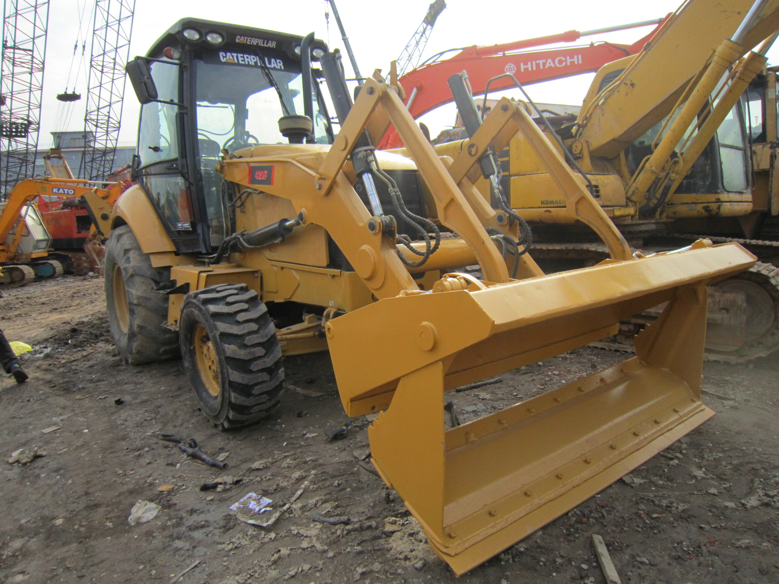 Cheap Price CAT 430F Backhoe Loader/ CAT 420F 430E 420E 450E Available
