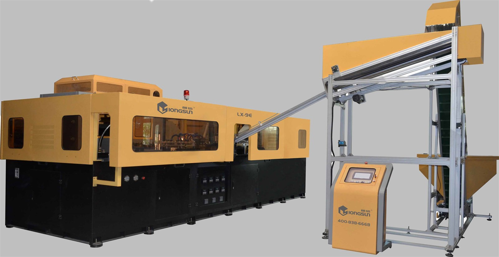 LX-9E Compatible 1.5L High-Speed Blow Molding Machine