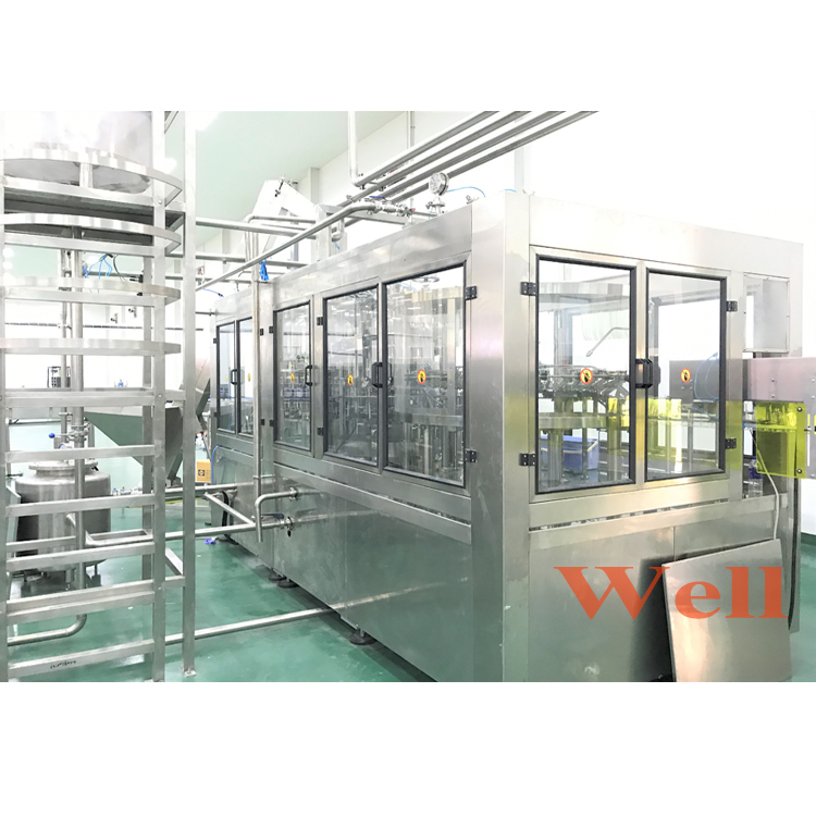 A-Z Full Complete Small Juice Filling Machine Include Juice Process System