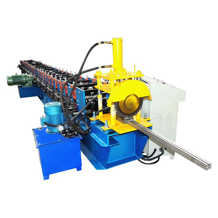 High Speed Automatic the Newest Track & Stud CZ Purline Roll Forming Machine