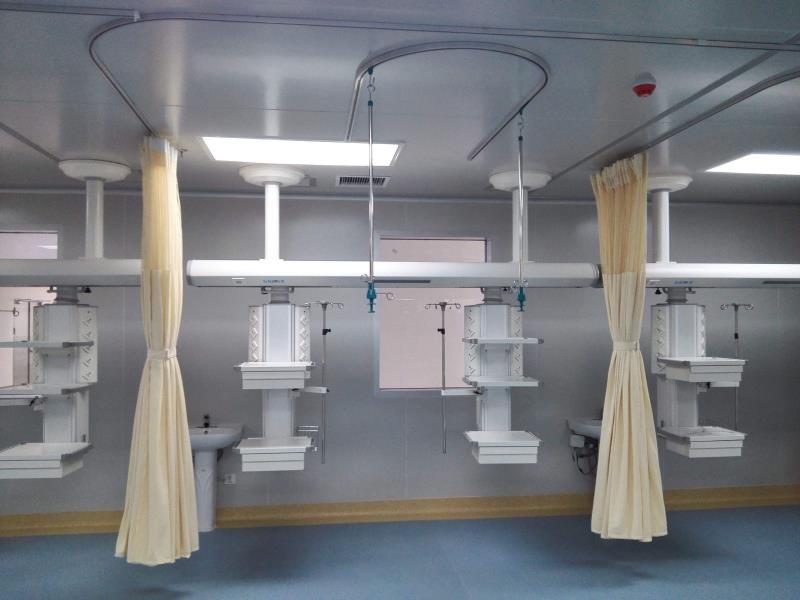 Hospital Disposable Curtain with Mesh