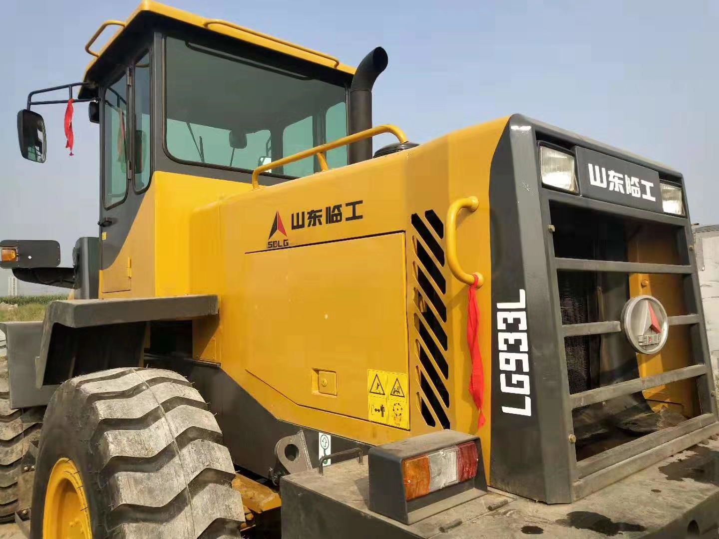 Used SDLG 933L WHEEL Loader for Sale in China